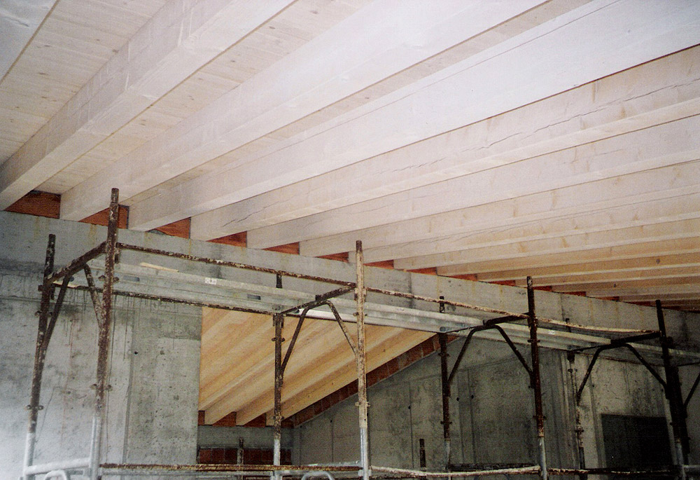 Cheap condominio tetto bianco masutti legnami with tetto - Tetto in legno bianco ...